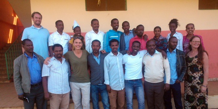 Celebrating Nuru Ethiopia Leadership Team Success in 2014