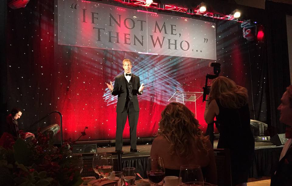 """Jake Harriman honored with 2015 """"If Not Me, Then Who…"""" Award by Travis Manion Foundation"""