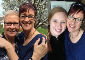 #MyMomIsStrongBecause… by Heather and Olivia Warren