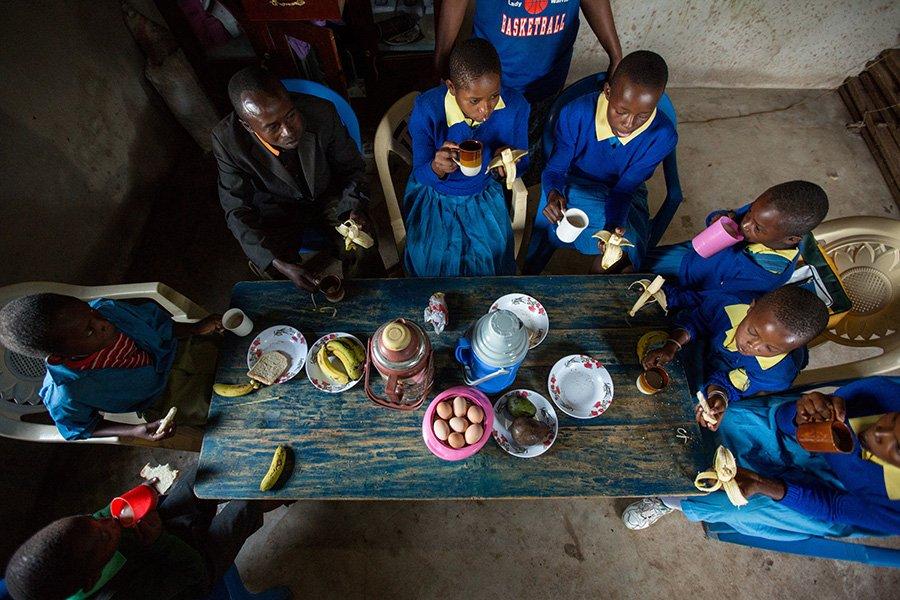 Through Nuru Kenya's programs, farmers Floria and Charles Gibore have enough to provide food and schooling for their children (Nuru Kenya)