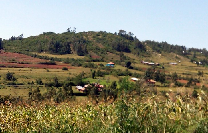 The remote Nyamagenga village(Rebwi Cooperative is located here)