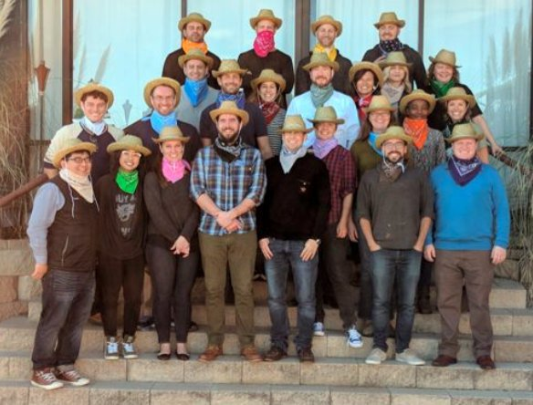 """Staff participate in Nuru's Annual Summit where Nuru's 10th Anniversary was celebrated with the theme """"This Ain't Our First Rodeo."""""""