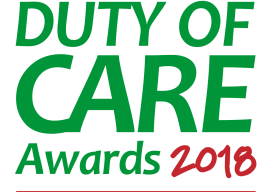 Nuru International Clinches Runner Up Position at the 2018 Duty of Care Awards