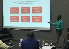 Leadership Program Manager Presents at Influential African Agriculture Conference