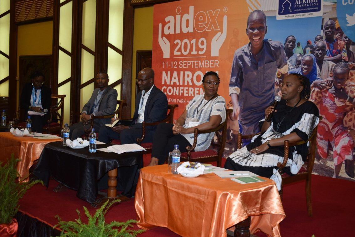 Nuru Kenya Shares At Conference In Nairobi, Kenya