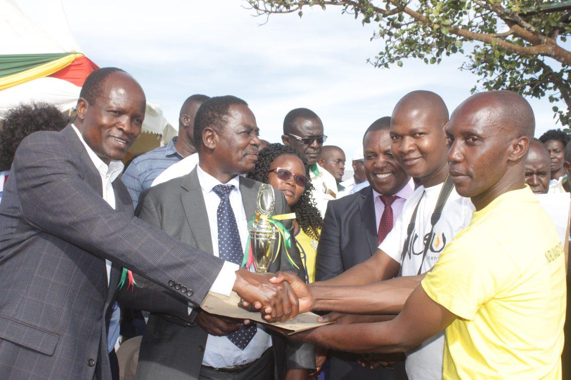 Nuru receives recognition from Migori County Governor