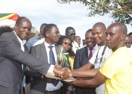 Nuru receives recognition from Migori County Governor