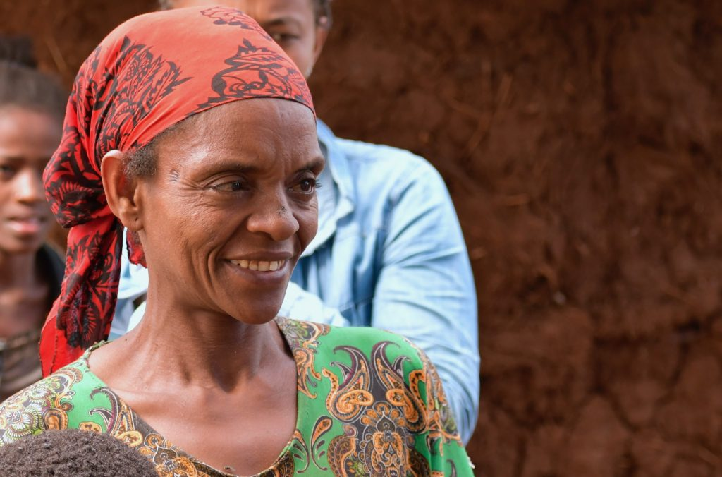 woman farmer in ethiopia
